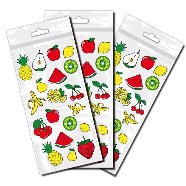 Obst Stickerbogen | Fahrradaufkleber