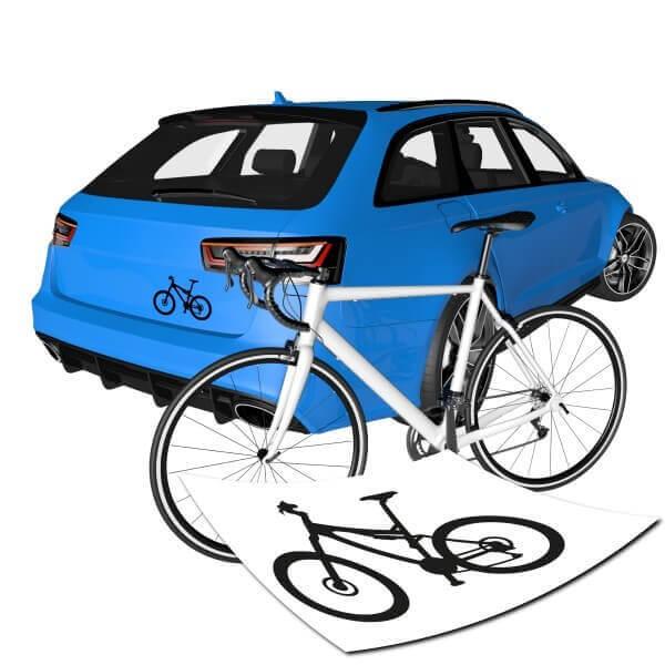 Motivaufkleber Mountainbike - MTB - Fahrrad