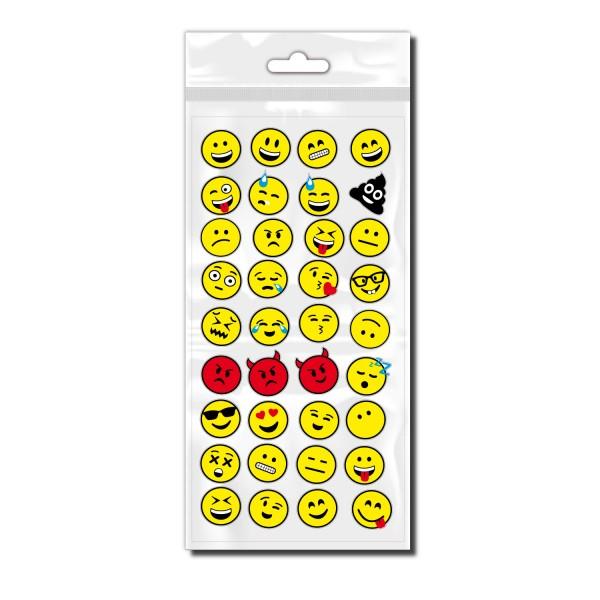 Smiley Fahrradaufkleber für Kinder