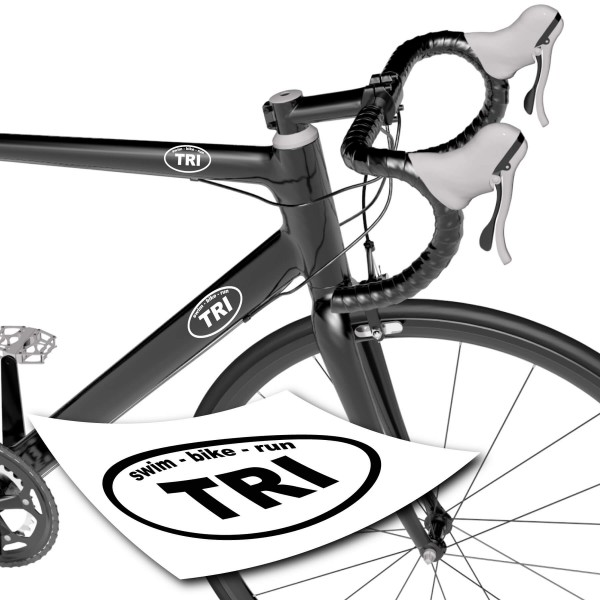 Tri Sticker | swim - bike - run