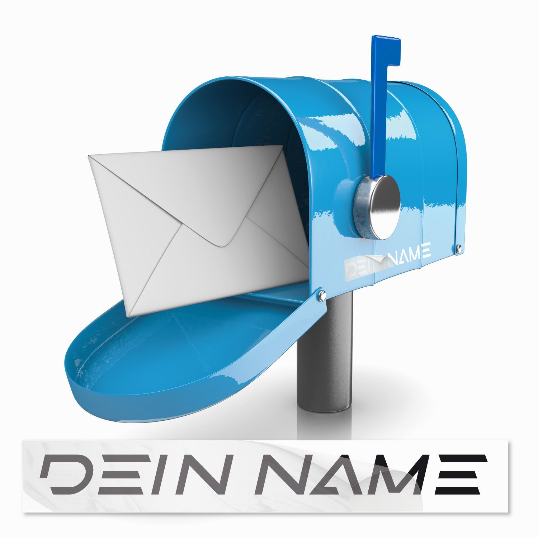 Beschiftung Namen für Briefkasten Namensaufkleber Briefkasten - Kategorie Shop