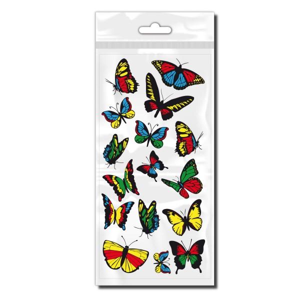 Schmetterlinge Sticker für Fahrrad