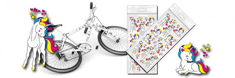 Bunte Fahrrad Sticker Für Kinder Und Erwachsene