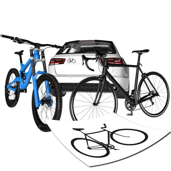 Motivaufkleber Fahrrad Sticker