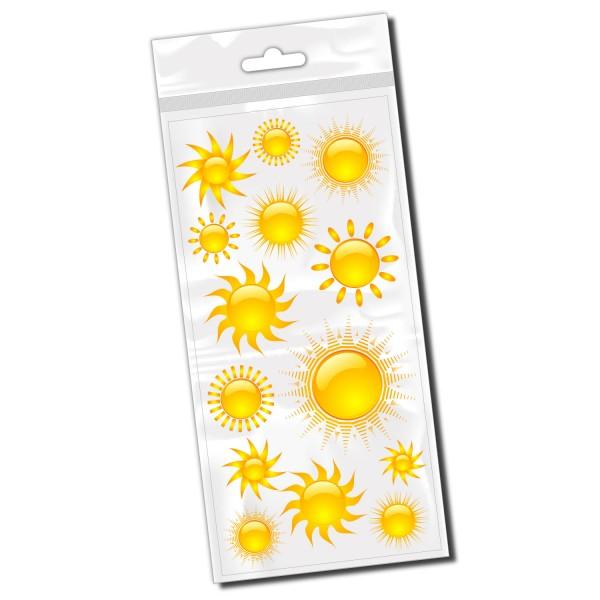 Sonnen Set Fahrradaufkleber - Kategorie Shop