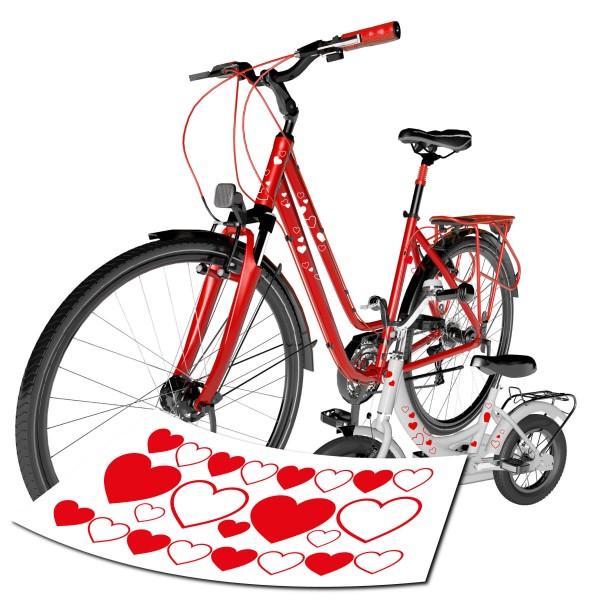 Herzen Sticker Set | klein