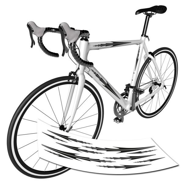 Streifen Dekor Fahrrad