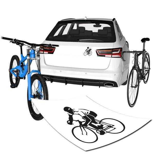 Motivaufkleber - Oldschool Biker - Sticker