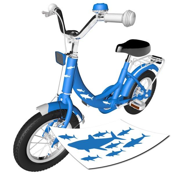 Hai Sticker Fahrrad | SHARK mehrteilig