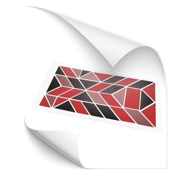 Dreieck Rechteck Reflex Set Rot - Kategorie Shop