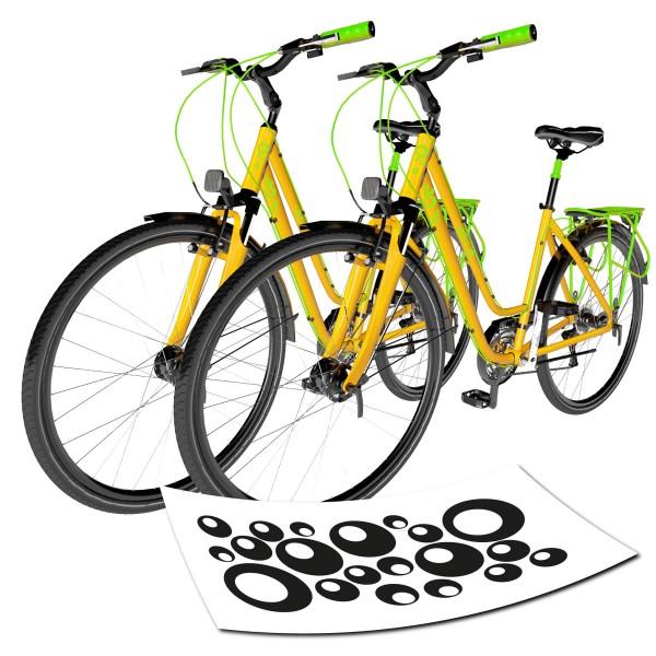 Sticker Blasen für Fahrrad