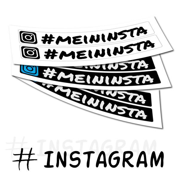 Instagram Aufkleber Druck