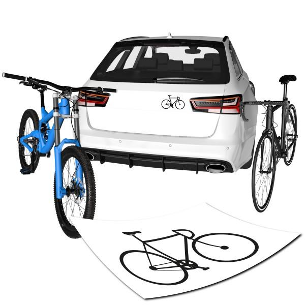 Fahrrad Bahnrad Aufkleber