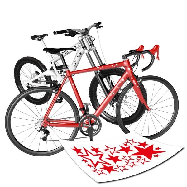 Stern Aufkleber Fahrrad