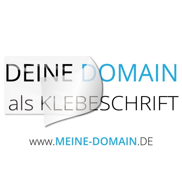 Domain Aufkleber