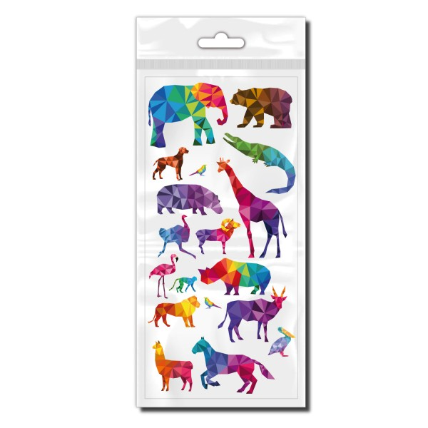 Polygon Animals Set Fahrradaufkleber - Kategorie Shop