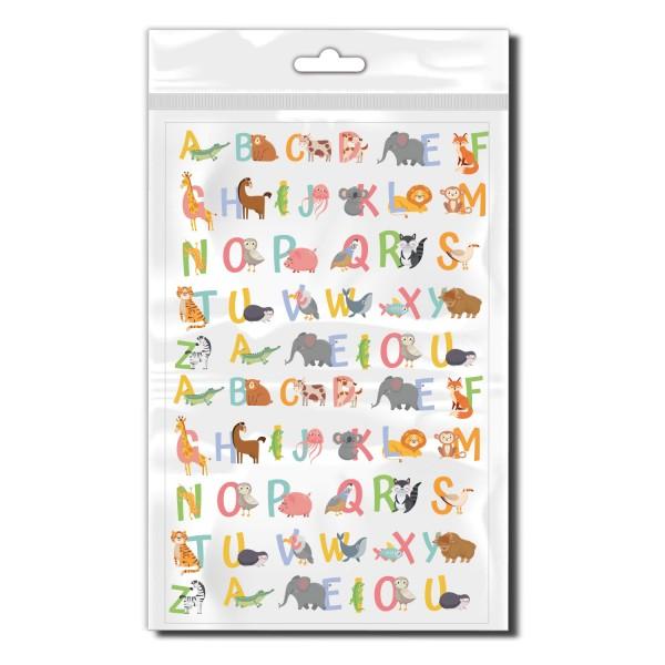 Tier Buchstaben Set Fahrrad Namensaufkleber - Kategorie Shop