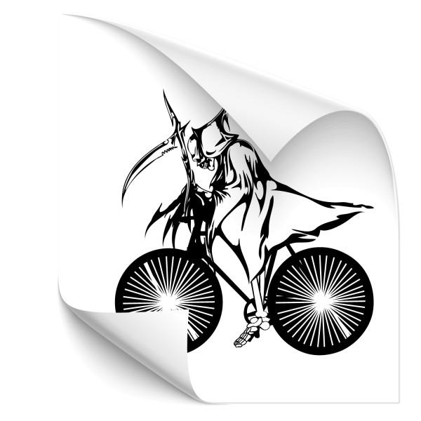 Tod auf Rädern Wandaufkleber