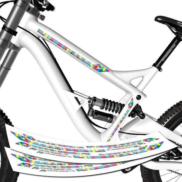 Fahrrad Rahmen Aufkleber