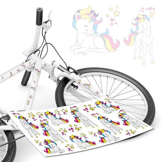 fahrradtattoo-einhorn