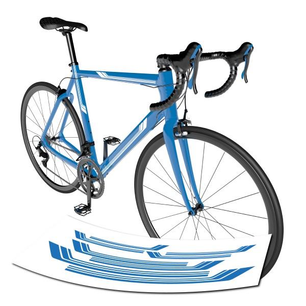 Rennrad Streifen Aufkleber