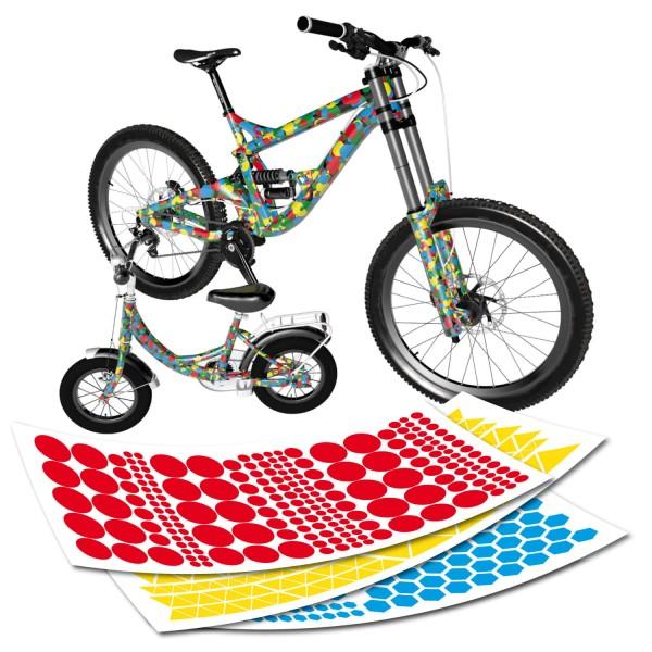 Fahrradfolierung Muster Folie