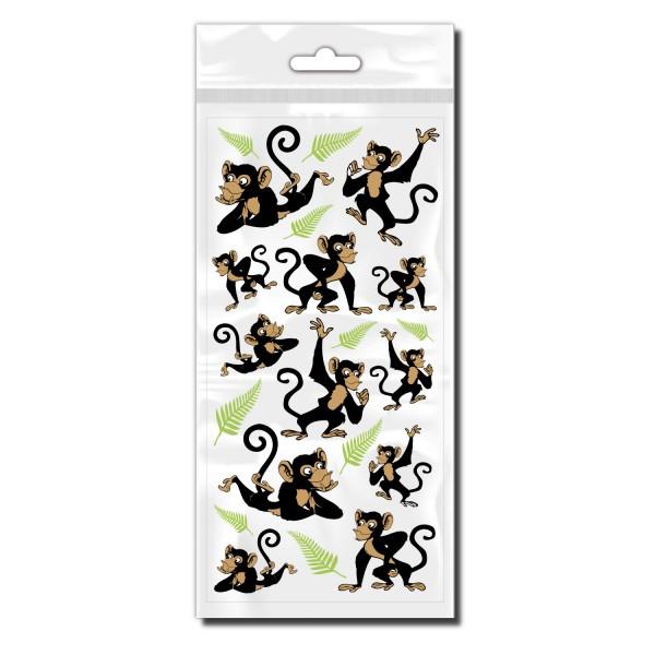 Affen Fahrradaufkleber