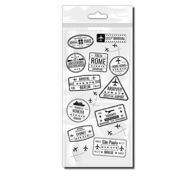 Briefmarken Sticker - Kategorie Shop