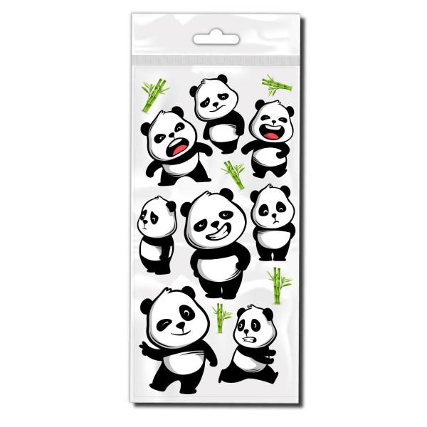 Pandabären Set Fahrrad Rahmen Dekor Sticker - Kategorie Shop