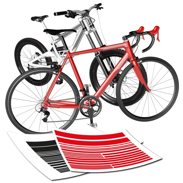 Fahrradstreifen Set
