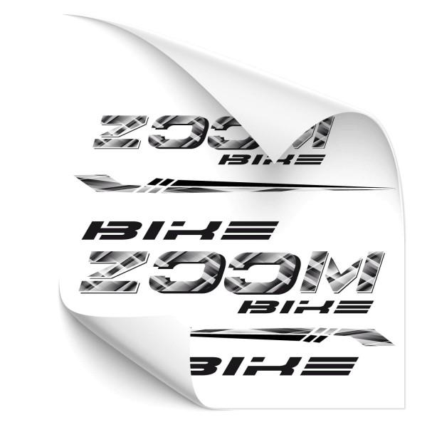 Zomm Bike - Beschriftungsset Rahmen Beschriftung Zoom Bike - Kategorie Shop