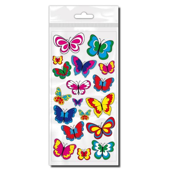 Schmetterlinge Fahrradaufkleber