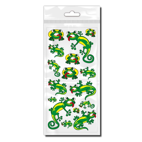 Gecko Fahrradaufkleber