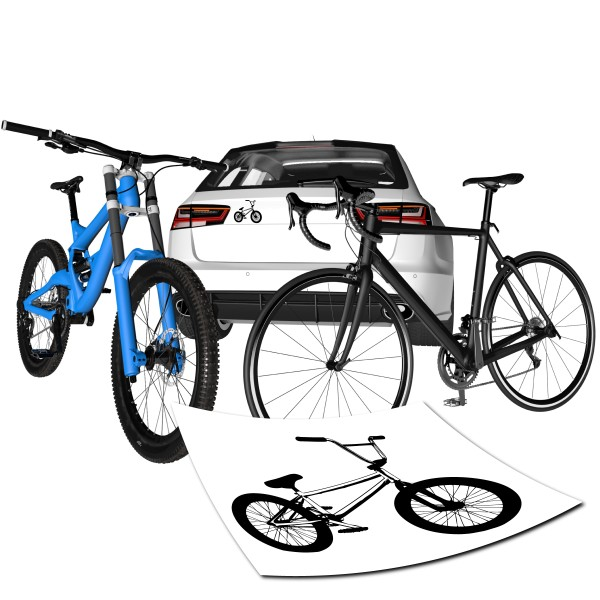 BMX Motivaufkleber