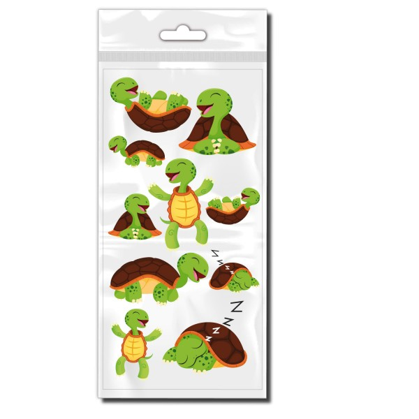 Schildkröten Set Bike Rahmenaufkleber - Kategorie Shop