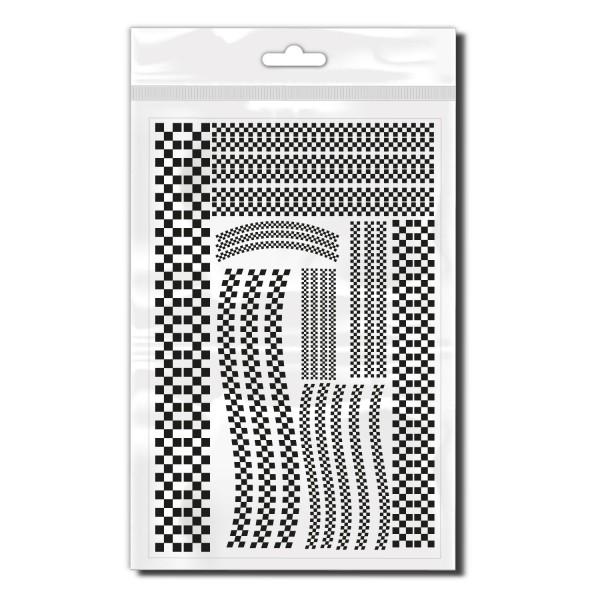 Racing Stripes Fahrradaufkleber