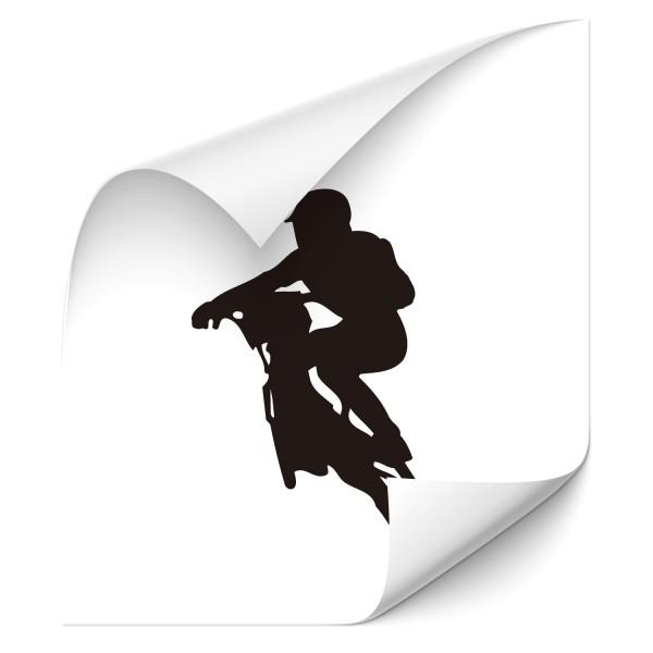 Motivaufkleber - MTB Fahrer Sticker