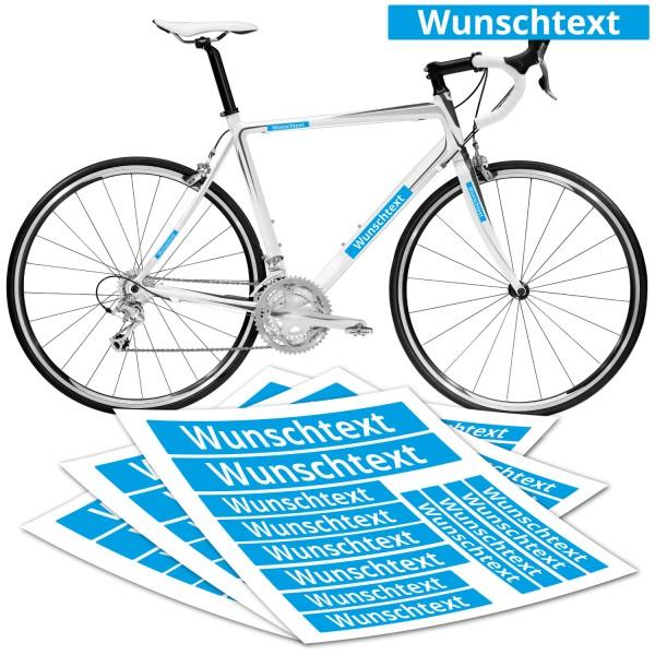 Rennrad Rahmen Beschriftung Folie