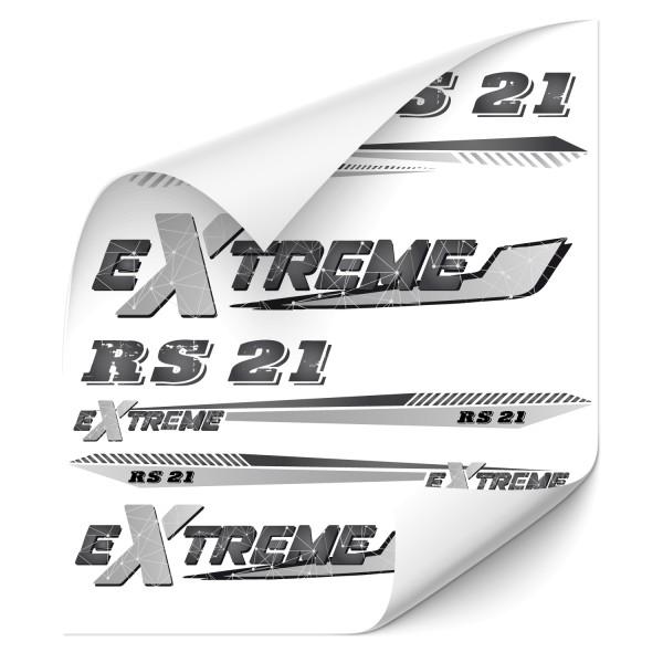Rahmen Bike Beschriftung Extrem Dekor Druck