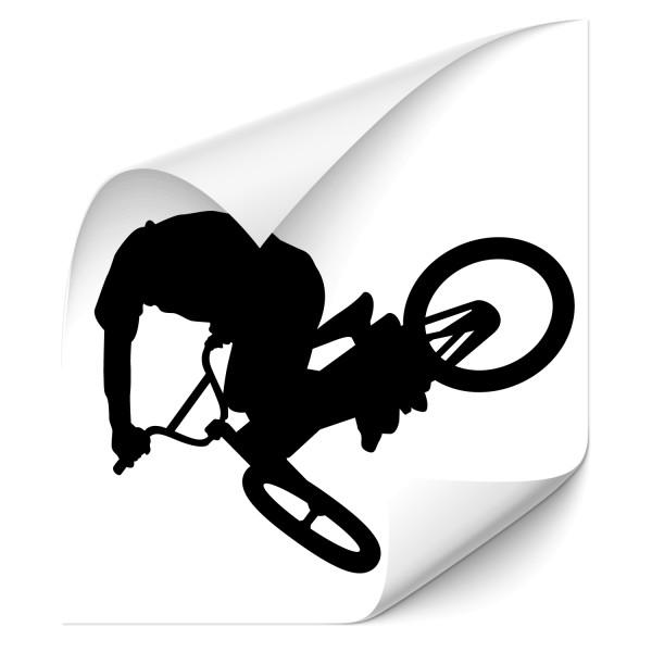 Mountainbiker Sticker - Motivaufkleber -