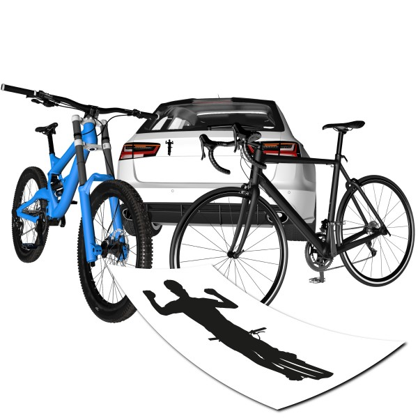 Sieger Radfahrer Motiv