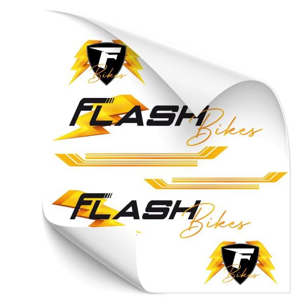 Flash Bikes - Beschriftungsset Beschriftungsset Flash Bikes - Kategorie Shop