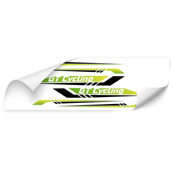 GT Cycling - Beschriftungsset Beschriftungsset GT Cycling - Kategorie Shop