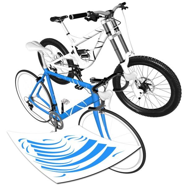 Dekor Streifenaufkleber Fahrrad