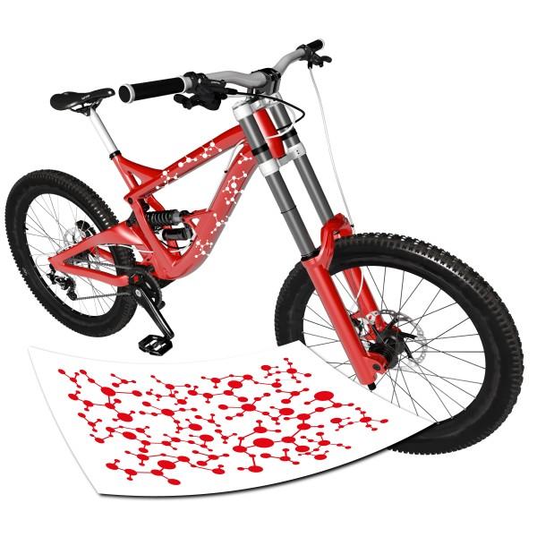 Moleküle | Teilchen | Stickerbogen Fahrrad