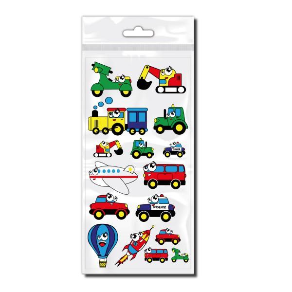 Fahrzeuge Sticker Set