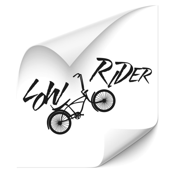 Low Rider   Wandtattoo