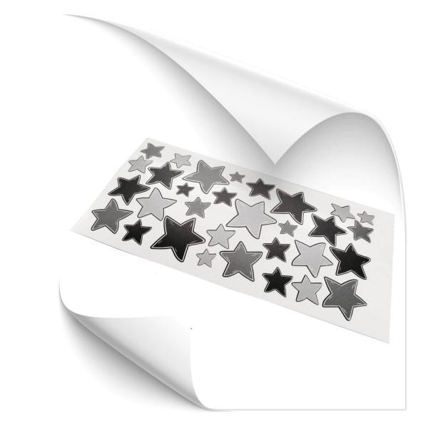 Reflex Sterne Set Grau - Kategorie Shop