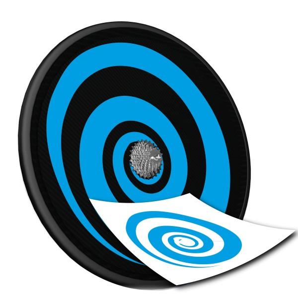 Scheibenrad Dekor - Spirale