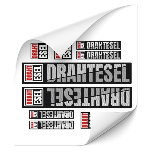 Drahtesel - Beschriftungsset Beschriftungset Drahtesel - Kategorie Shop